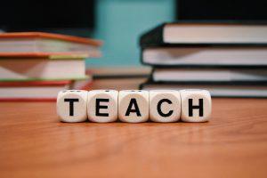 Teach sign